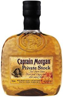 Captain Morgan Rum Private Stock 750ml